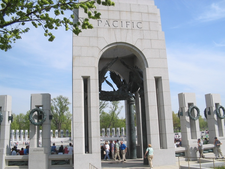 WWII Pacific Memorial